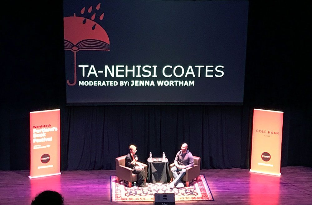 Wordstock Ta-Nehisi Coates
