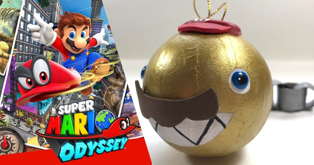 Bring Home 'Super Mario Odyssey' (and Chain Chompikins) for the Holidays