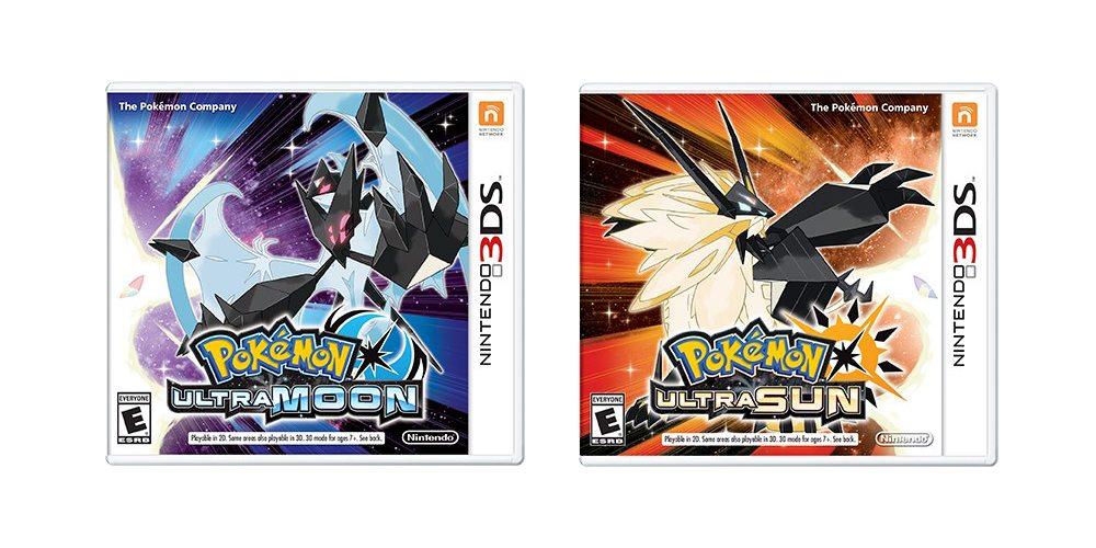 pokemon ultra sun and ultra moon