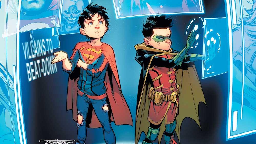 DC Comics Reviews: Super-Sons #10: A Cool New HQ