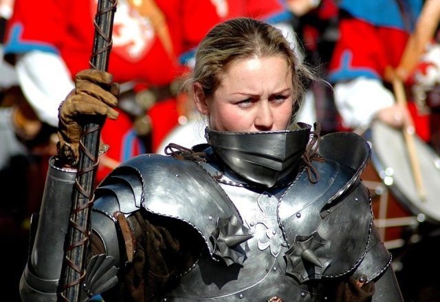 female knight