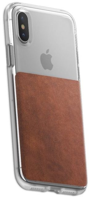 buy popular 088fc 10d6a Get a Grip: Nomad Clear Case for iPhone X - GeekDad