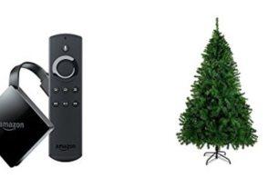 Geek Daily Deals 120217 fire tv christmas tree