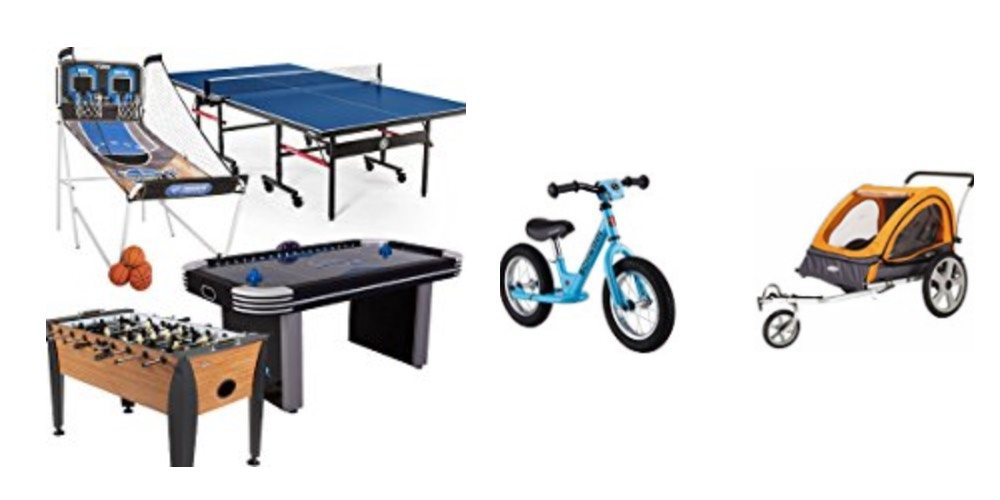 Geek Daily Deals Dec. 3, 2017: Foosball Tables, Air Hockey, Ping Pong and More; Big Savings on Family Bikes