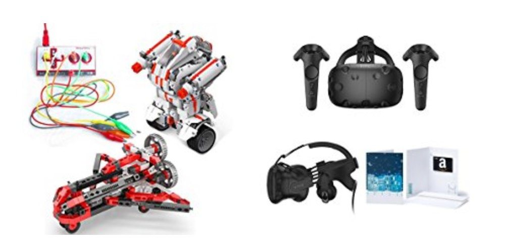 Geek Daily Deals Dec. 11, 2017: Sale on STEM Toys, Kits, and Equipment; Big HTC Vive Virtual Reality Bundle