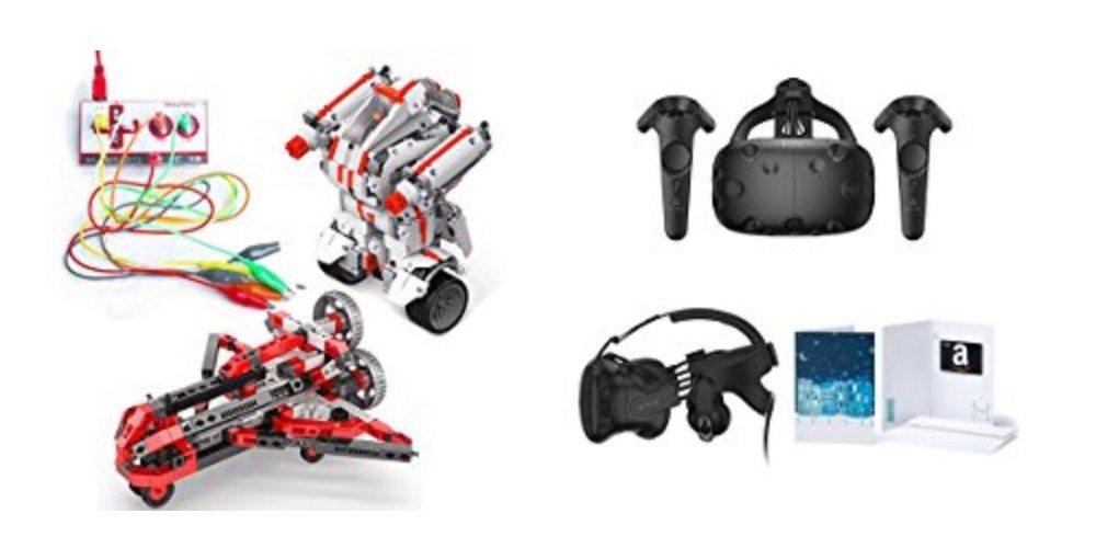 Geek Daily Deals 121117 STEM toys HTC Vive