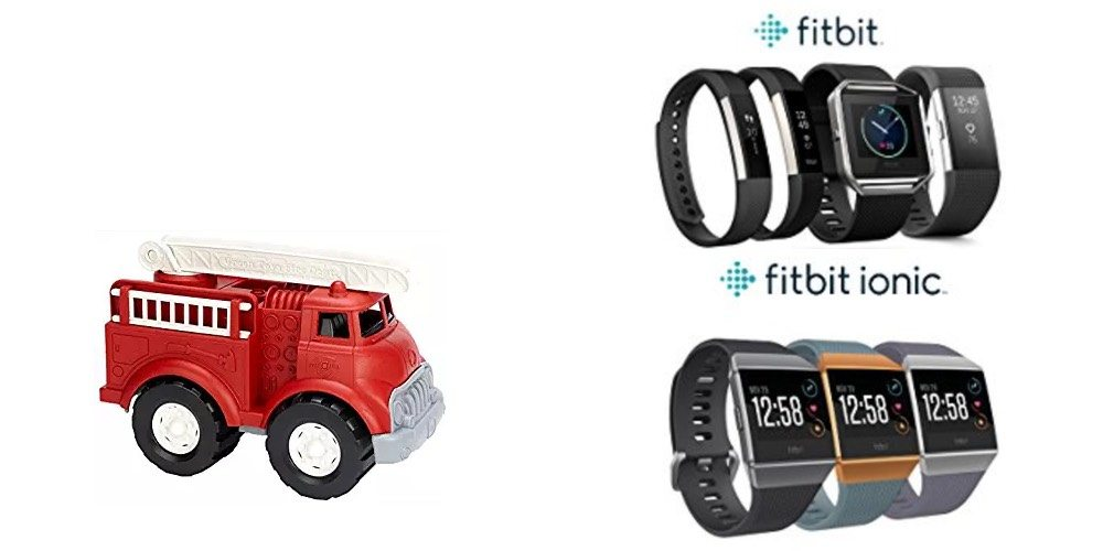 Geek Daily Deals Dec. 12, 2017: Toys Made With Recycled Materials; Sale on Lots of Fitbit Models
