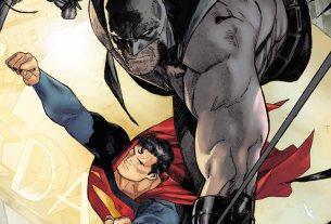 Batman & Superman & Lois & Selina in Batman #36