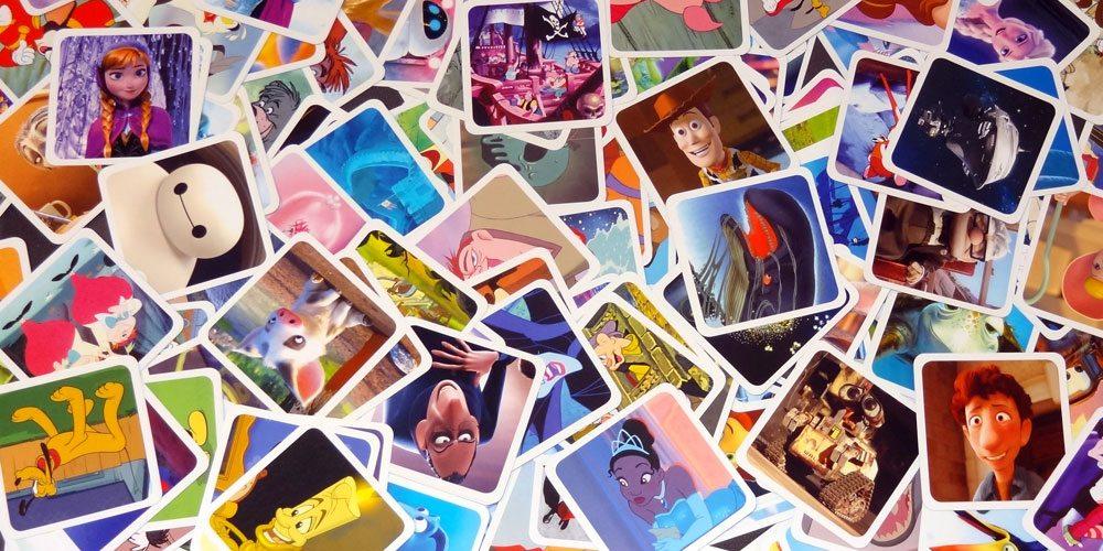 Codenames: Disney Family Edition pile of treasure cards