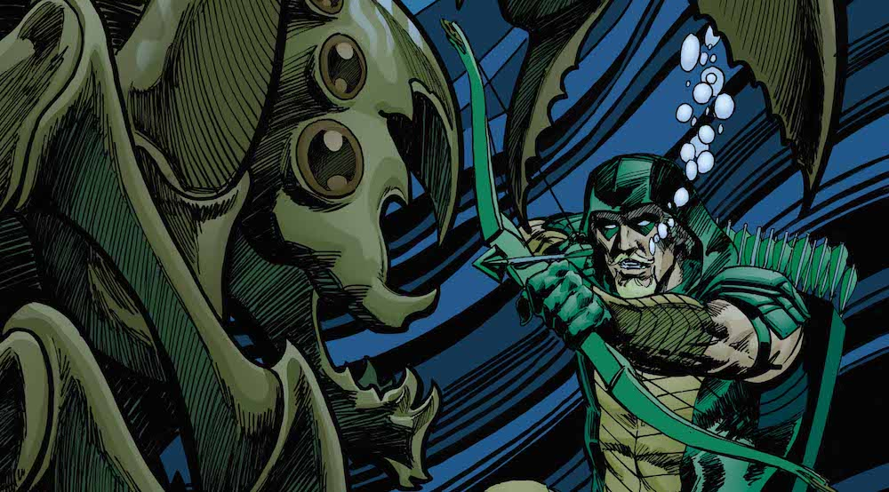 Review – Green Arrow #35: The Depths of the Moira Queen