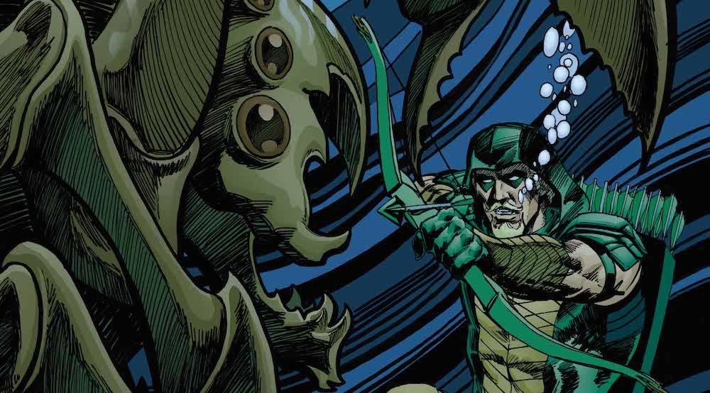 Green Arrow 35 variant cover