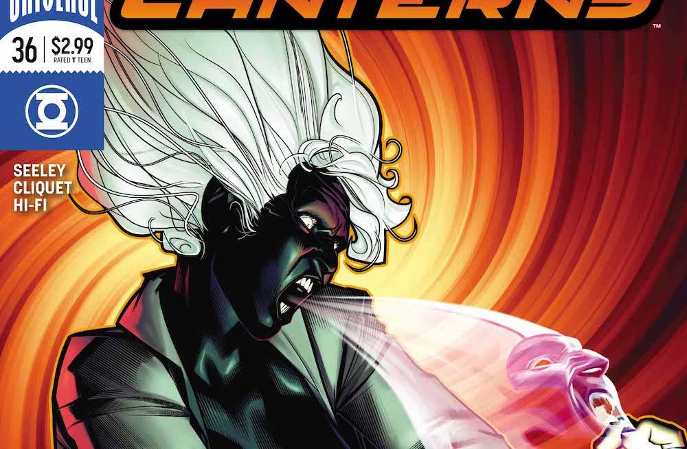Green Lanterns 36 2017 Singularity Jane