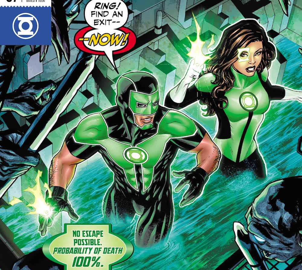 Green Lanterns #37 cover