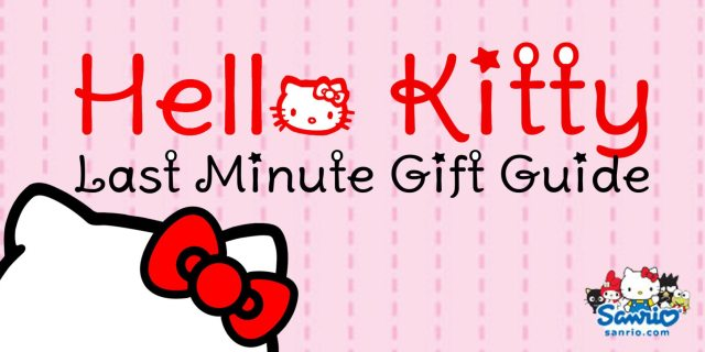 Hello Kitty is ready with holiday gift suggestions  Image: Dakster Sullivan