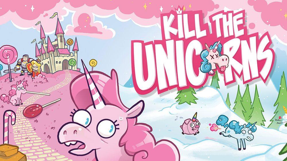 Kickstarter Tabletop Alert: 'Kill the Unicorns'