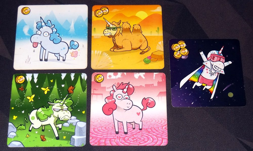 Kill the Unicorns unicorn cards