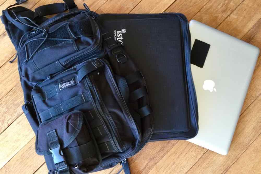 Maxpedition Kodiak With MacBook Pro