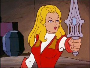 Adora and Grayskull sword for She-Ra