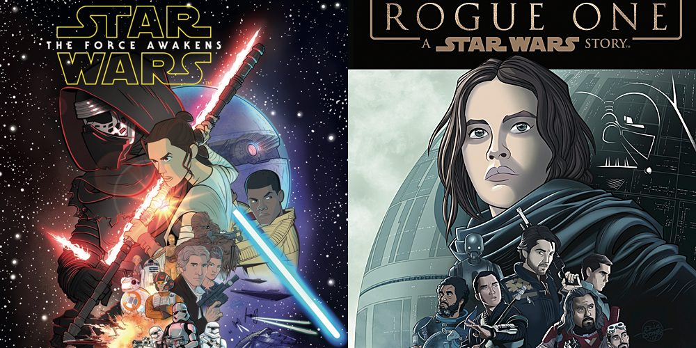Star Wars Graphic Novel Covers, Images: IDW Publishing