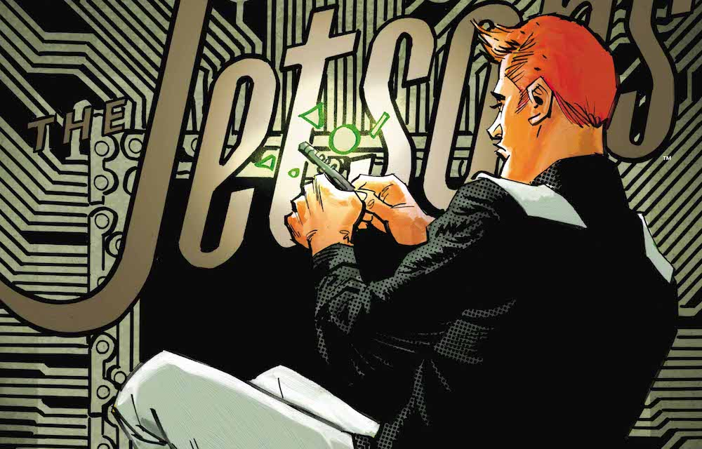 George Jetson, hard at work, Jetsons #2, 2017