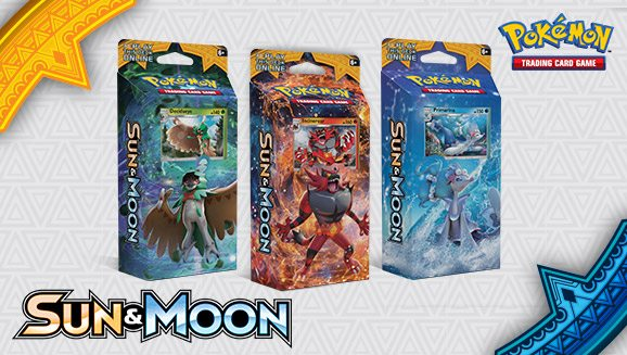 Theme Decks, Image: Pokemon