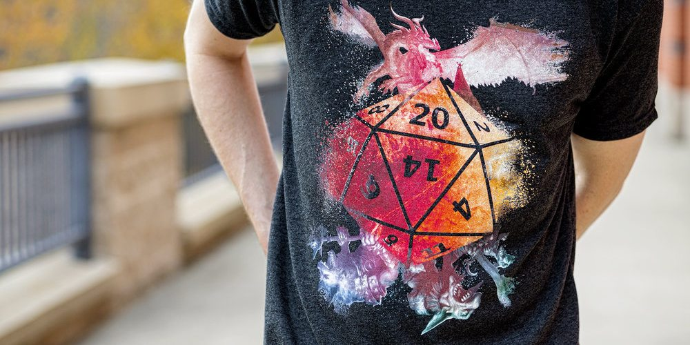 D20 Monsters! t-shirt