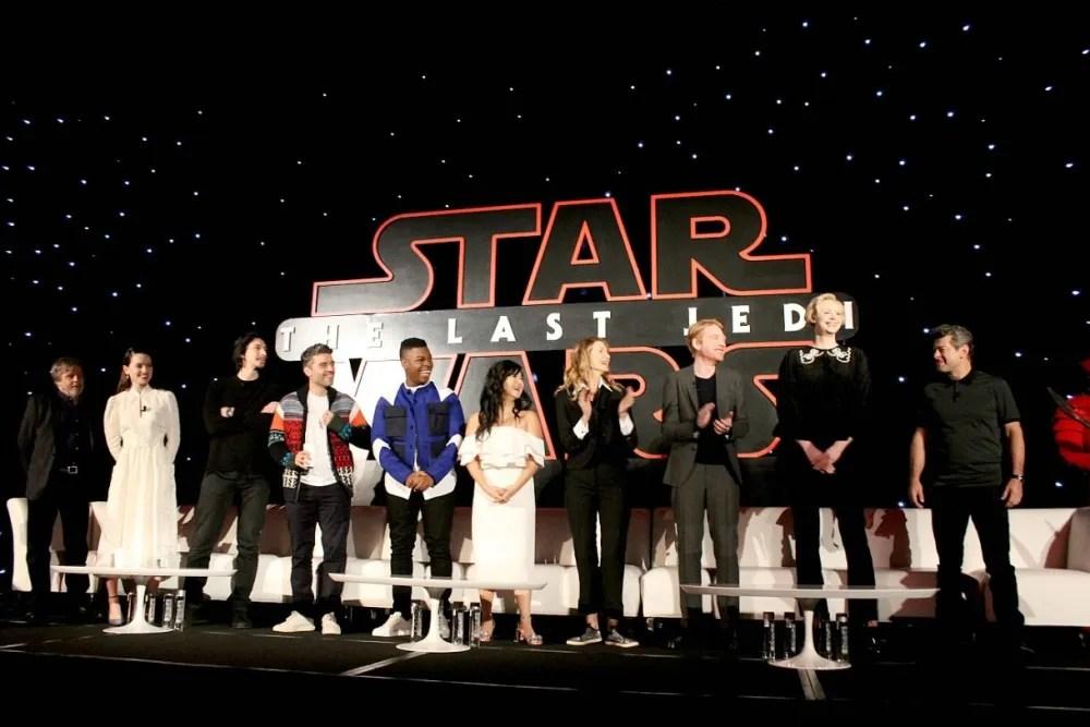 Cast of Star Wars: The Last Jedi