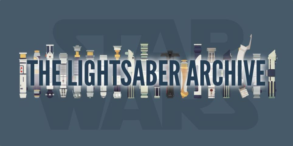 the lightsaber archive know your lightsaber geekdad