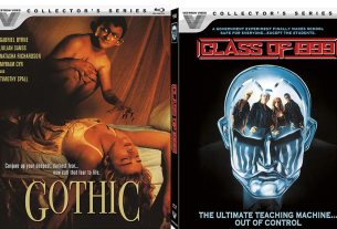 Vestron Video Collector's Series Blu Ray: Gothic and Class of 1999
