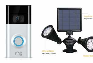 Geek Daily Deals 020718 ring doorbell solar security light
