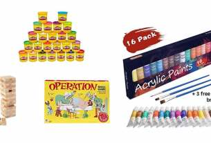 Geek Daily Deals 021218 operation jenga play-doh art supplies