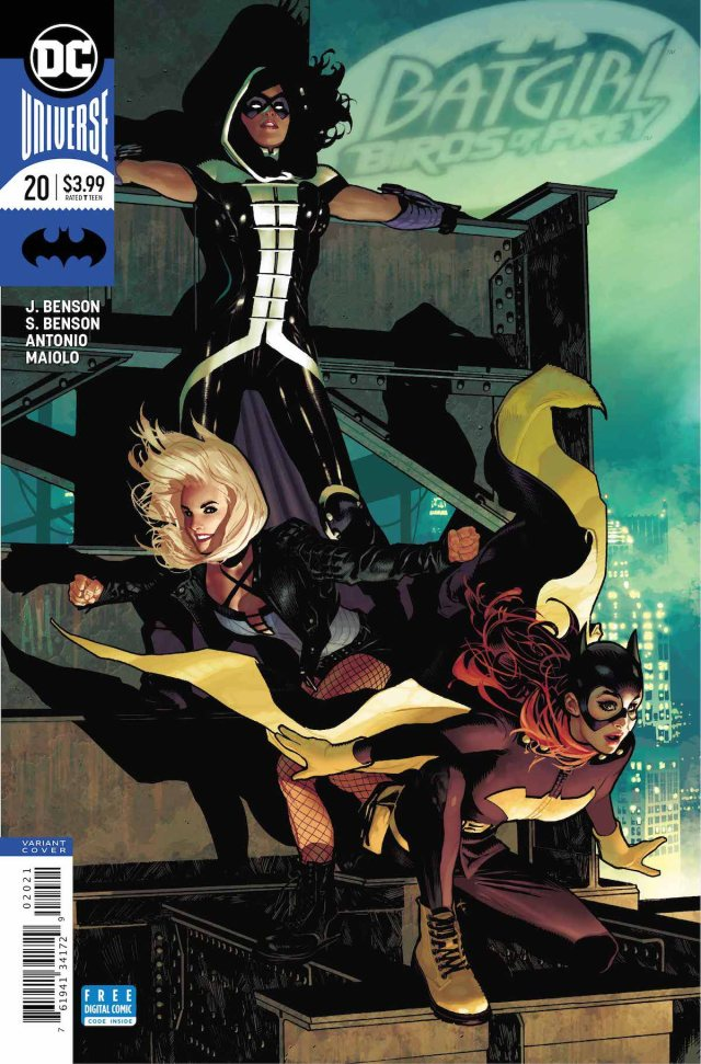 Review Batgirl And The Birds Of Prey 20 End Of The Team Geekdad