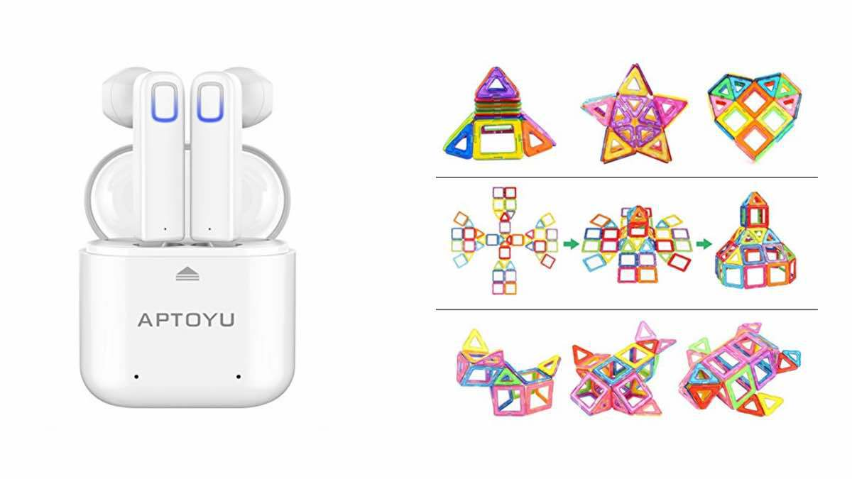 Geek Daily Deals 030218 wireless earbuds magnetic toys