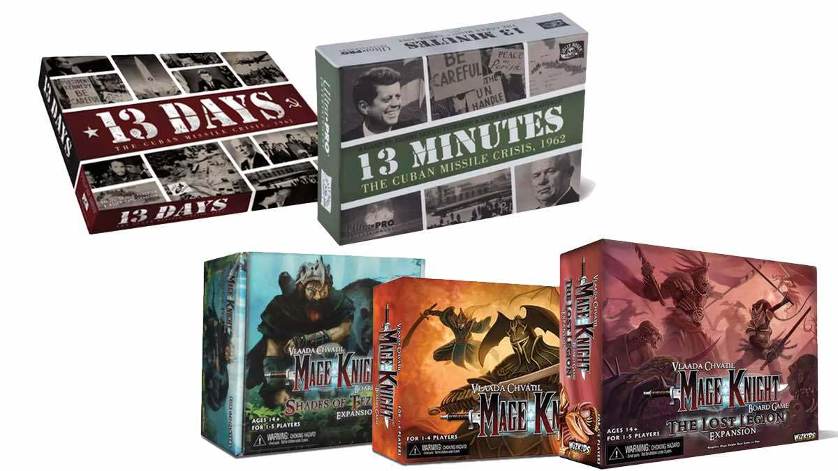 Geek Daily Deals 030418 13 days 13 minutes mage knight game bundles