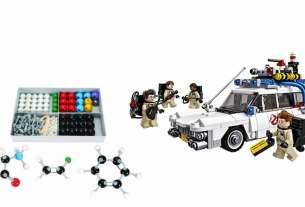 Geek Daily Deals 033118 chemistry model lego ghostbusters