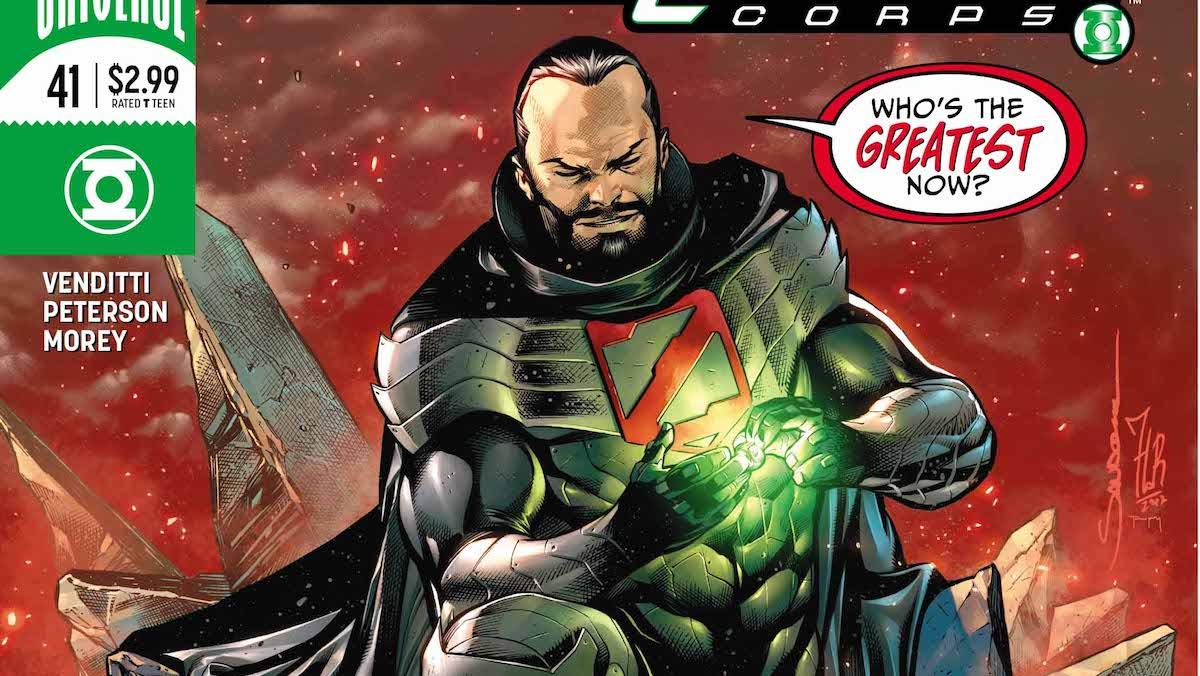 Hal Jordan #41 cover