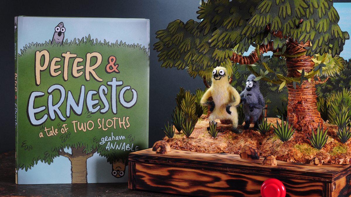 Peter & Ernesto diorama