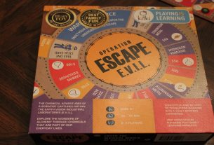 Operation Escape EVIL game box