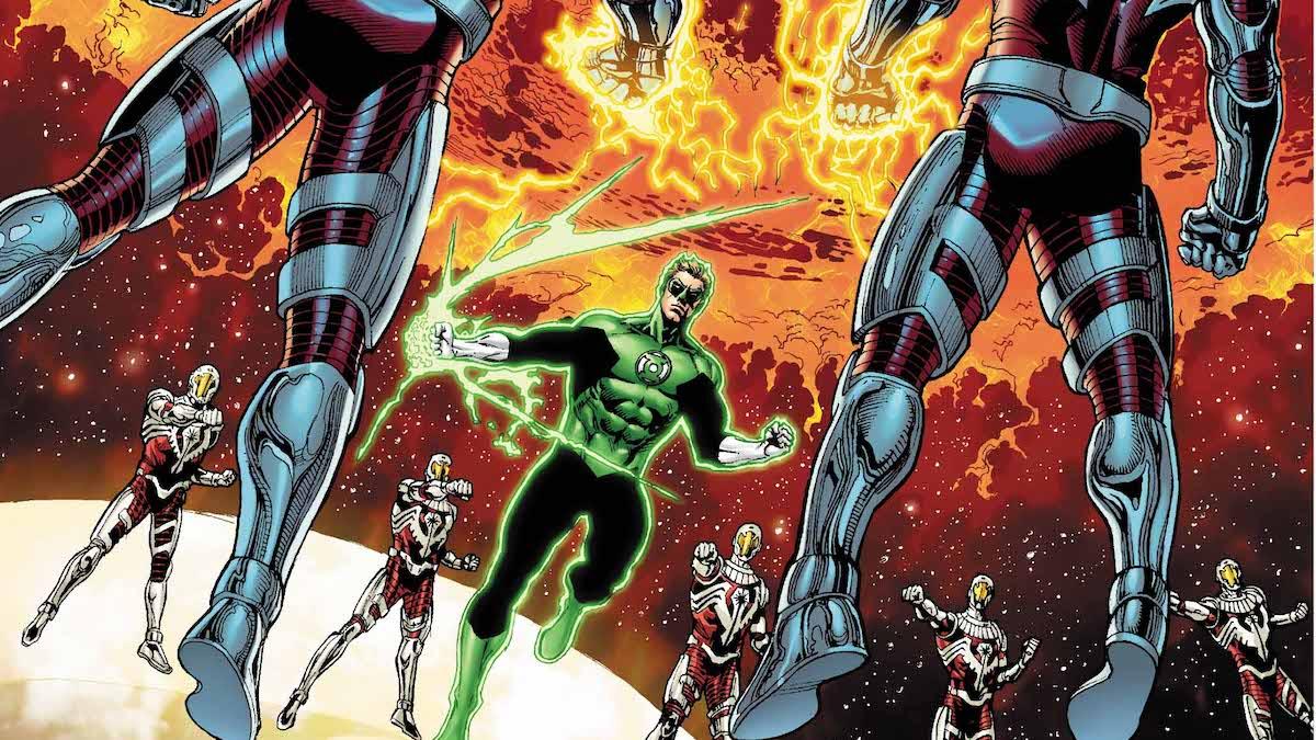 Hal Jordan #43 cover