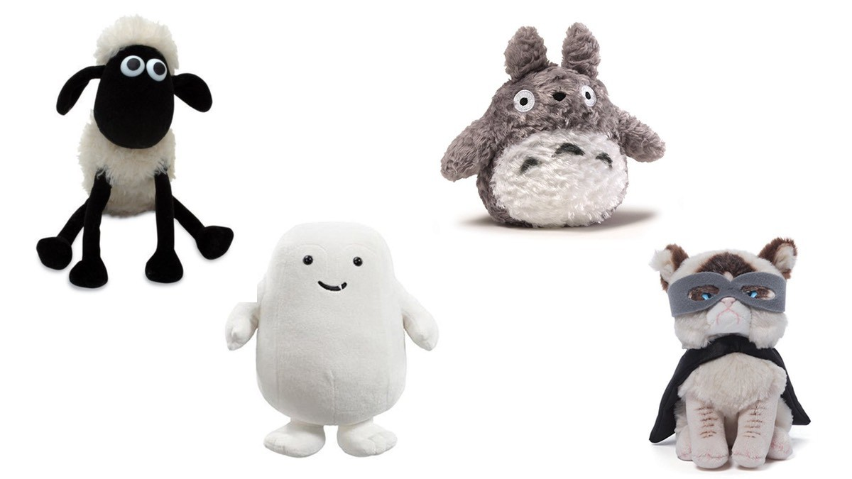 Geek Daily Deals 050718 shaun totoro adipose grumpy cat plushes