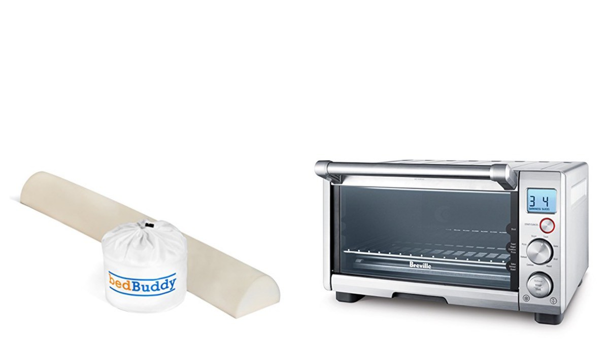 Geek Daily Deals 051018 bed rail guard toaster oven