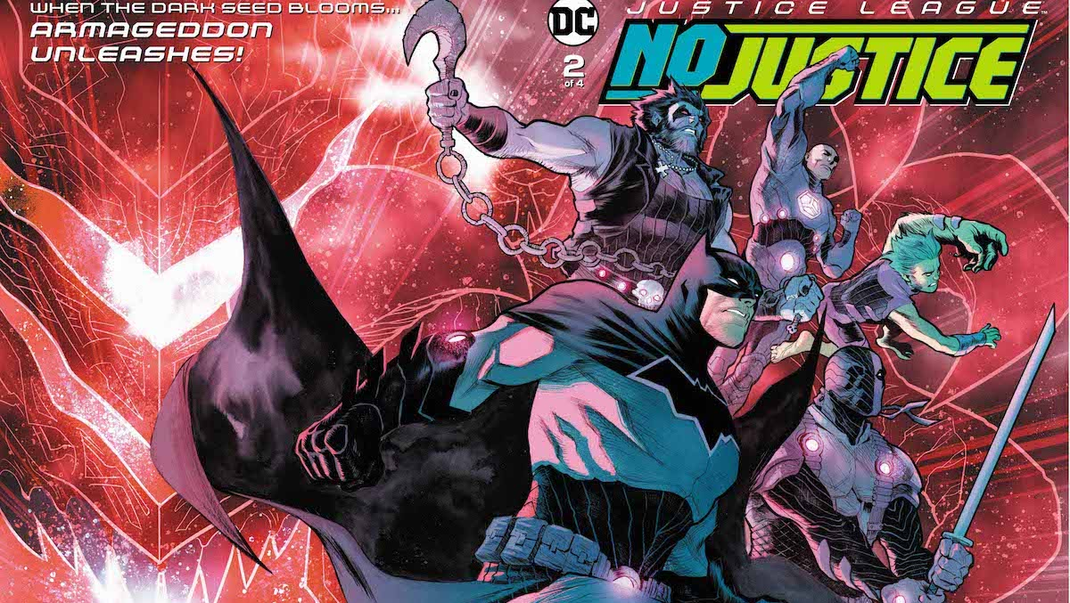 Justice League: No Justice #2 cover