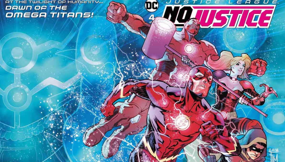 Justice League No Justice #4 cover