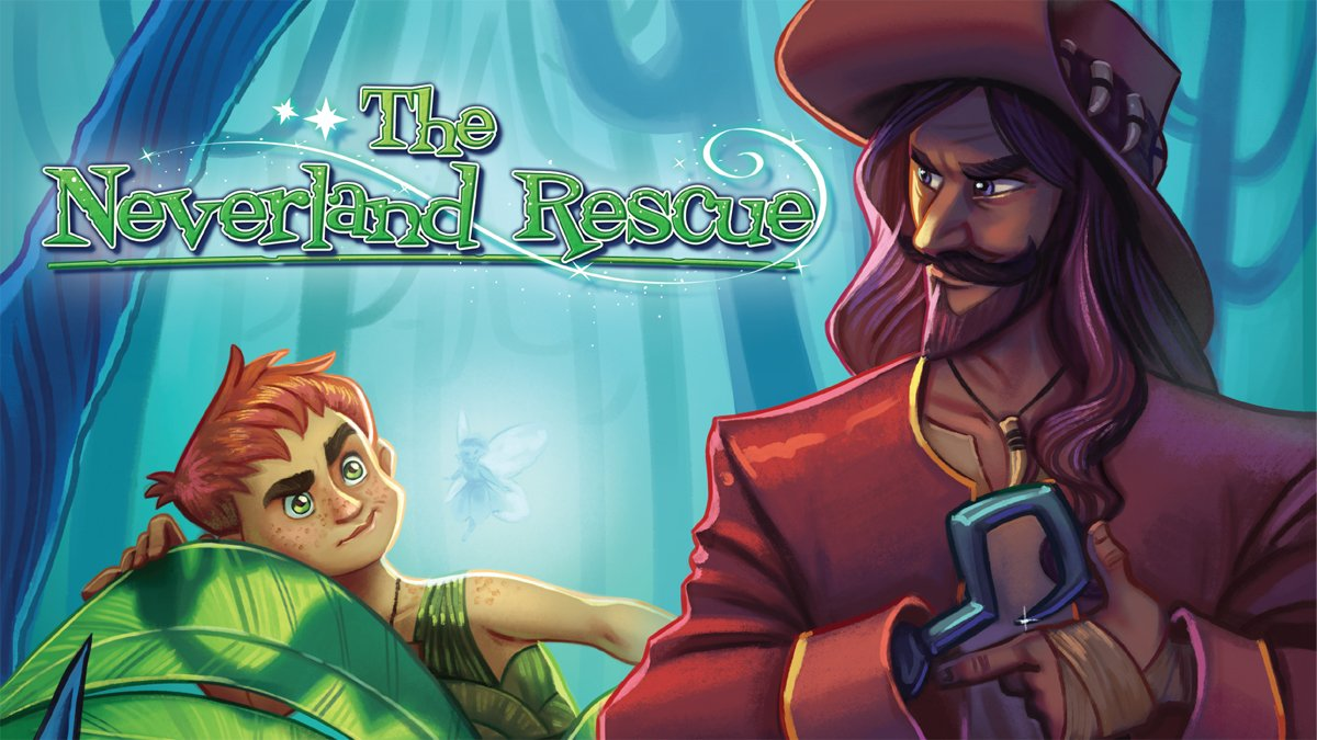 The Neverland Rescue cover