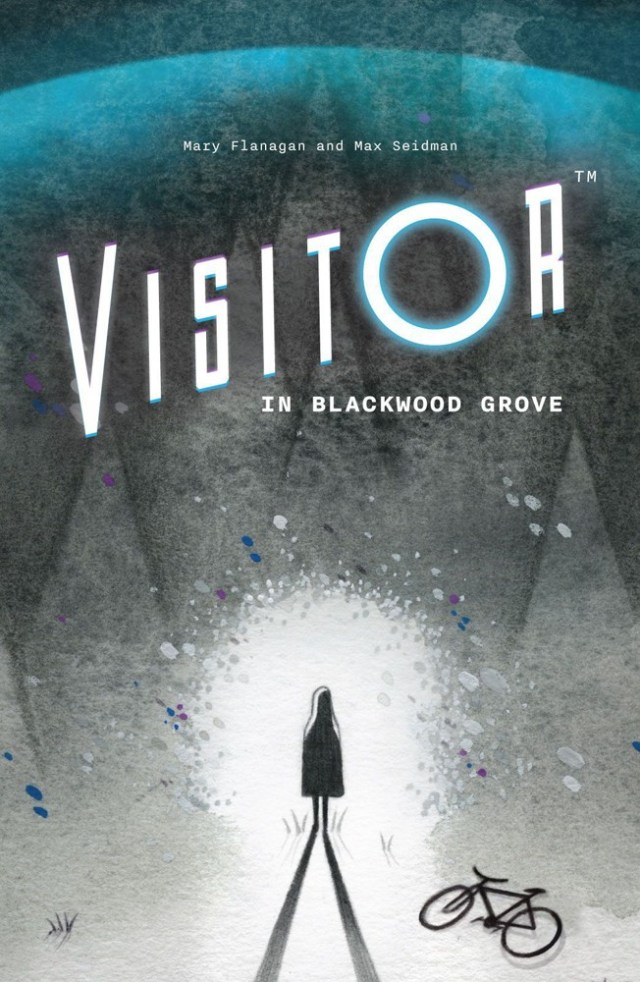 Visitor in Blackwood Grove cover