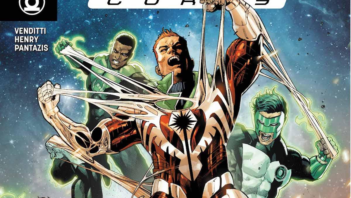 Hal Jordan #46 cover