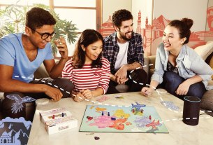 'When in Rome' Alexa-Powered Board Game.