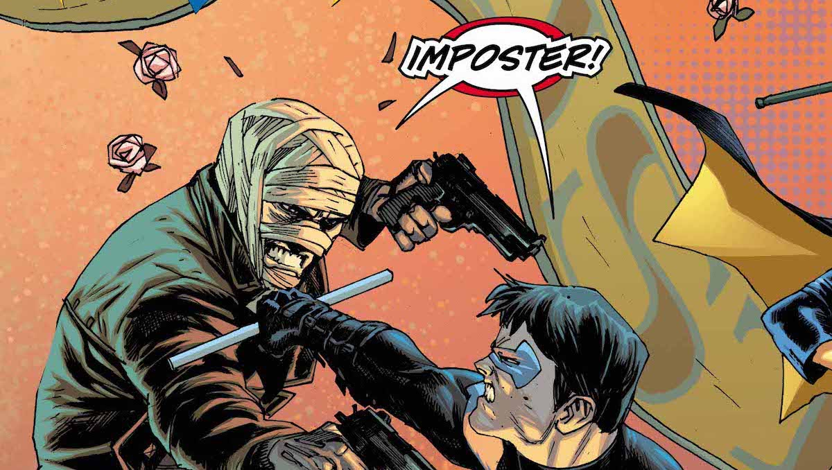Nightwing vs. Hush Special #1