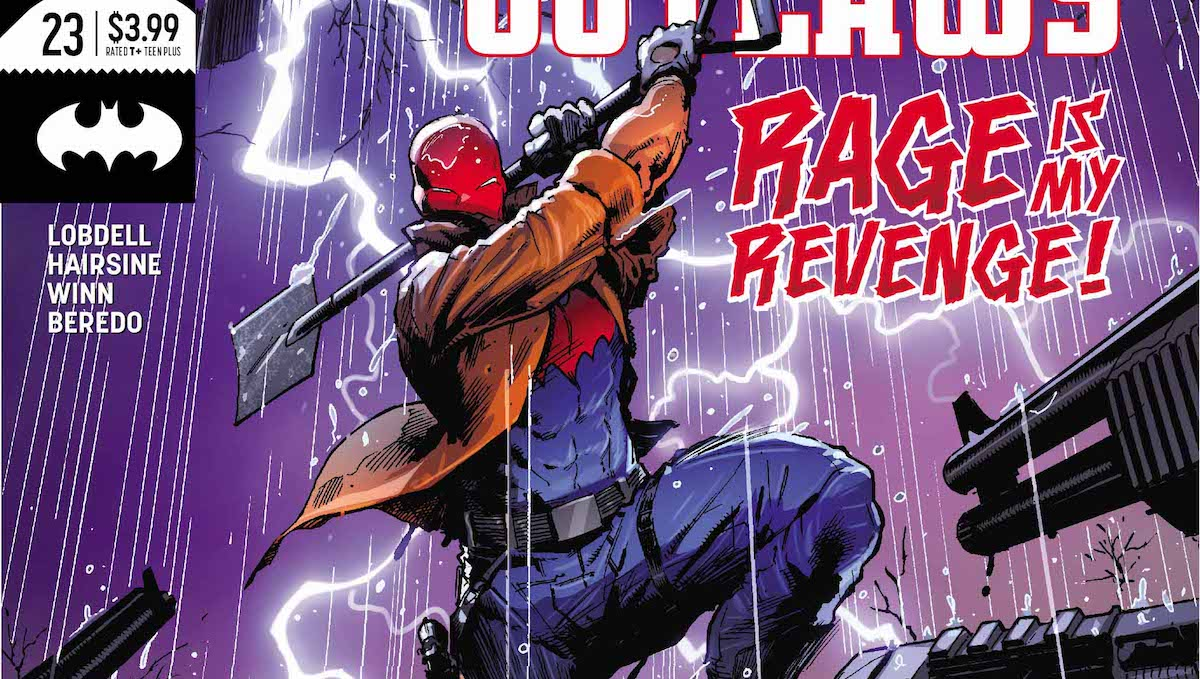 Red Hood and the Outlaws #23 cover