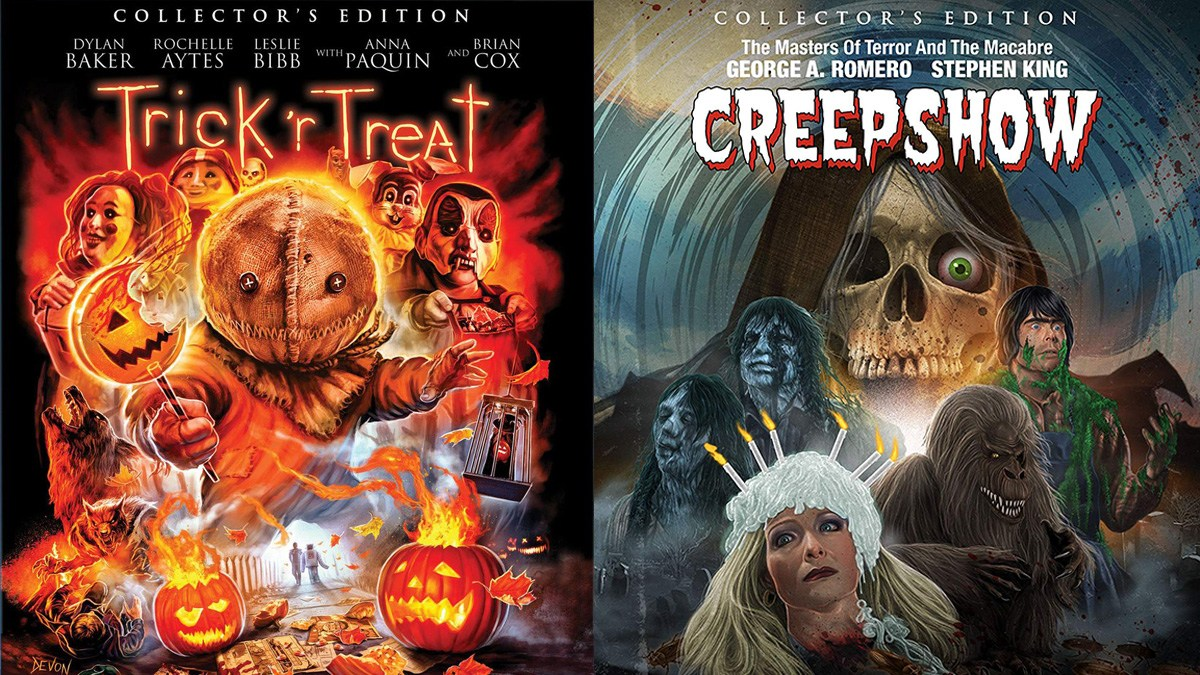 'Trick 'r Treat' and 'Creepshow' Collector Edition Blu-rays